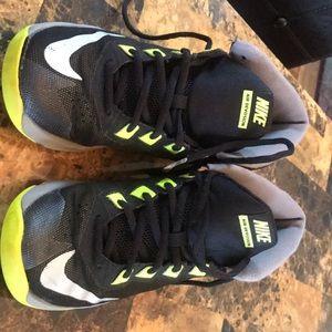 Nike Air Devosion black and green